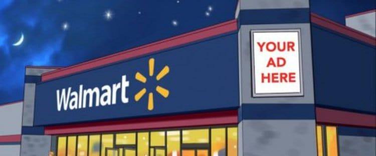 월마트 광고 제안 Walmart Advertizing