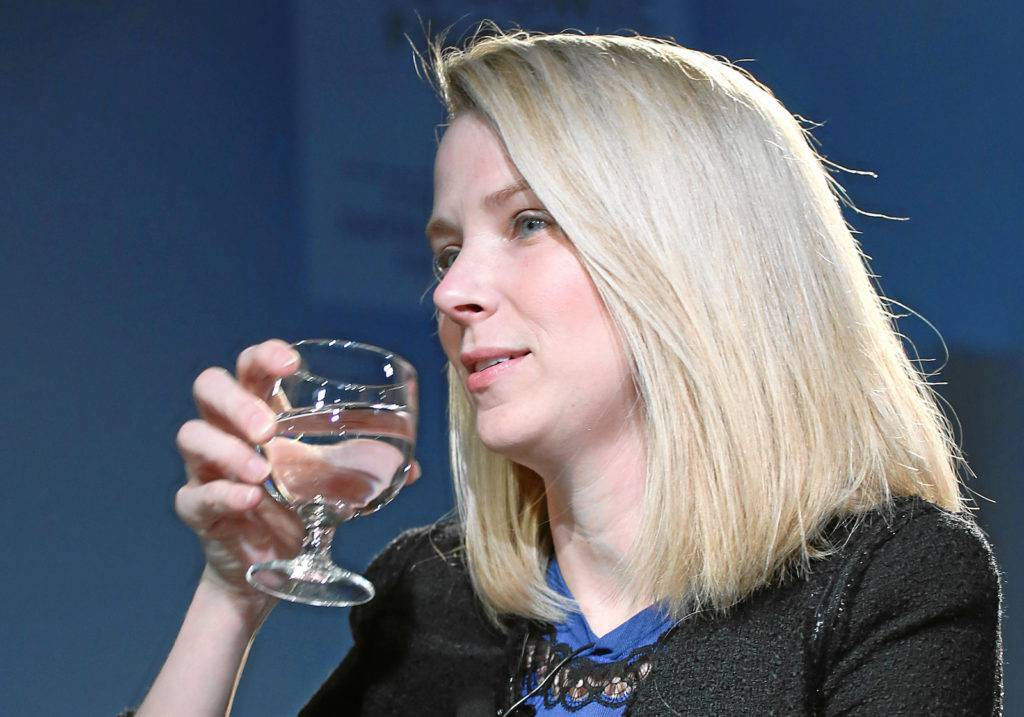 전 야후 CEO, 마리사 메이어. Marissa Mayer World Economic Forum_2013, Image - World Economic Forum