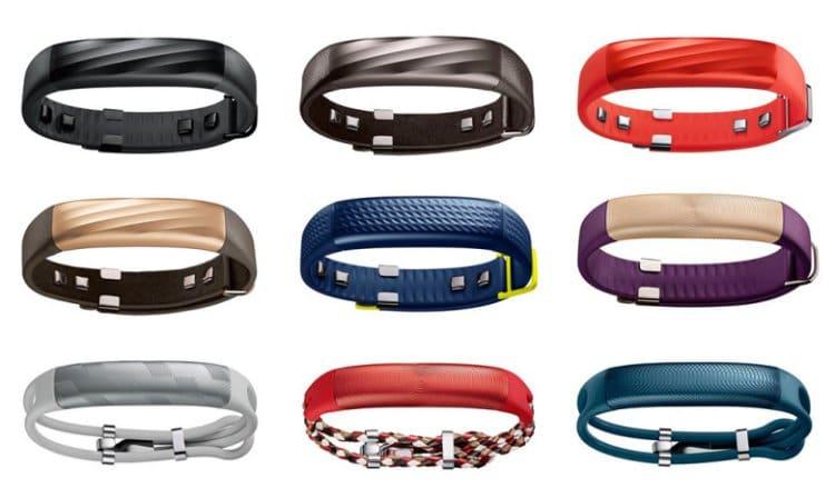 2015년 4월 출시한 조본(Jawbone) 피트니스 밴드 UP3 제품 이미지