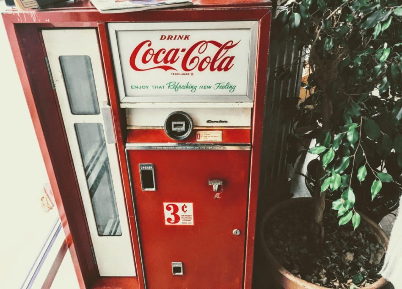 코카콜라 자판기, Coke  vending machine