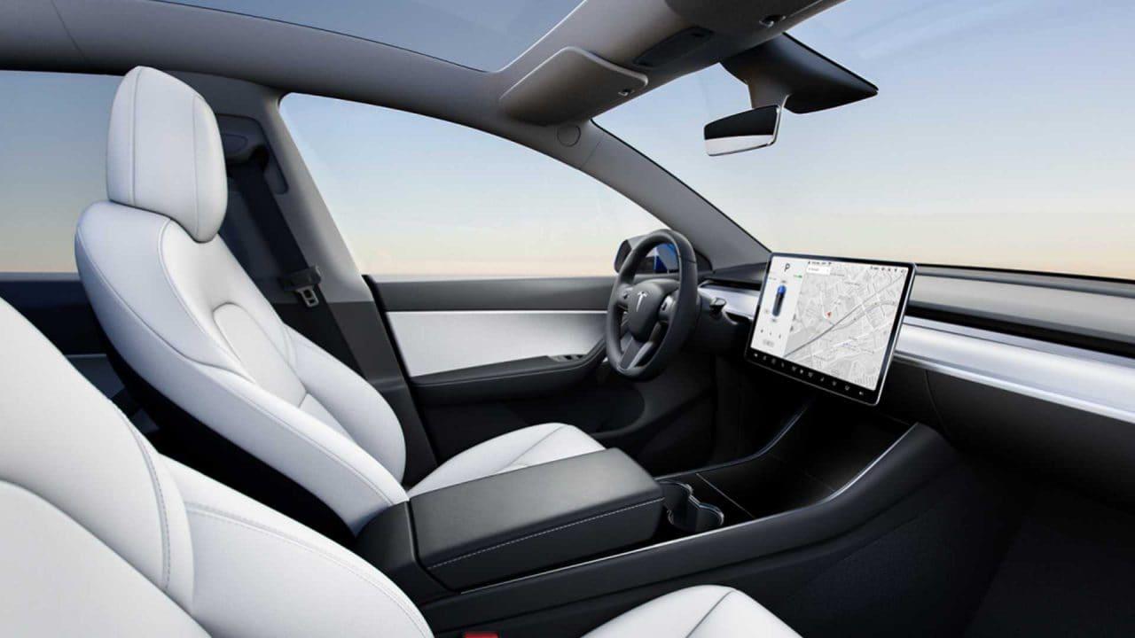 테슬라 모델 Y 인테리어 디자인, 2021 tesla model y interior, Image - Tesla