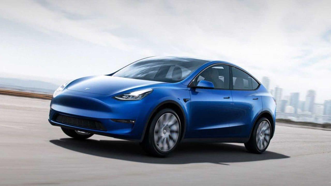 테슬라 모델 Y 좌측면 디자인, 2021 tesla model y front image, Image - Tesla