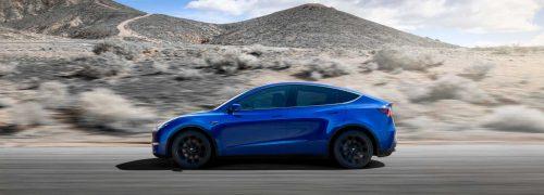테슬라 모델 Y 주행 모습, 2021 tesla model y racing image, Image - Tesla