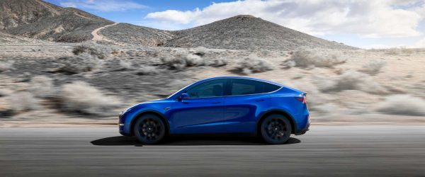 테슬라 모델 Y 주행 모습, 2021 tesla model y racing image, Image - Tesla