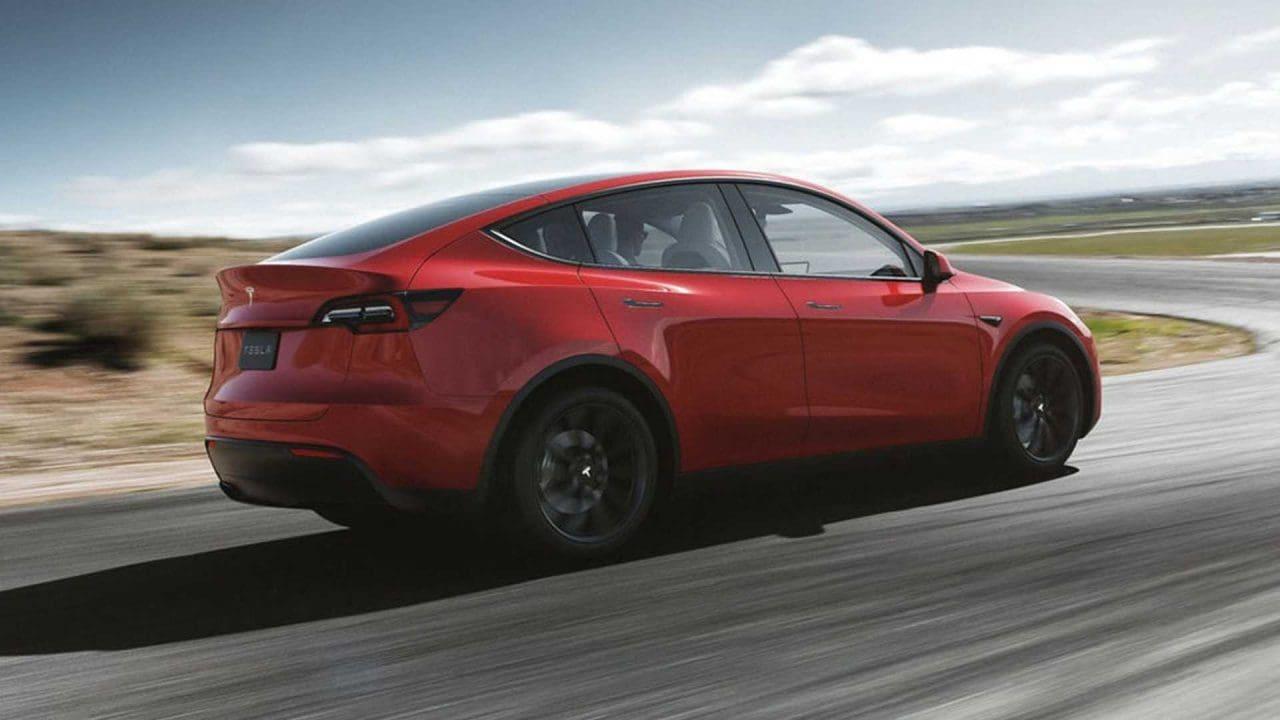 테슬라 모델 Y 측면 디자인, 2021 tesla model y side, Image - Tesla