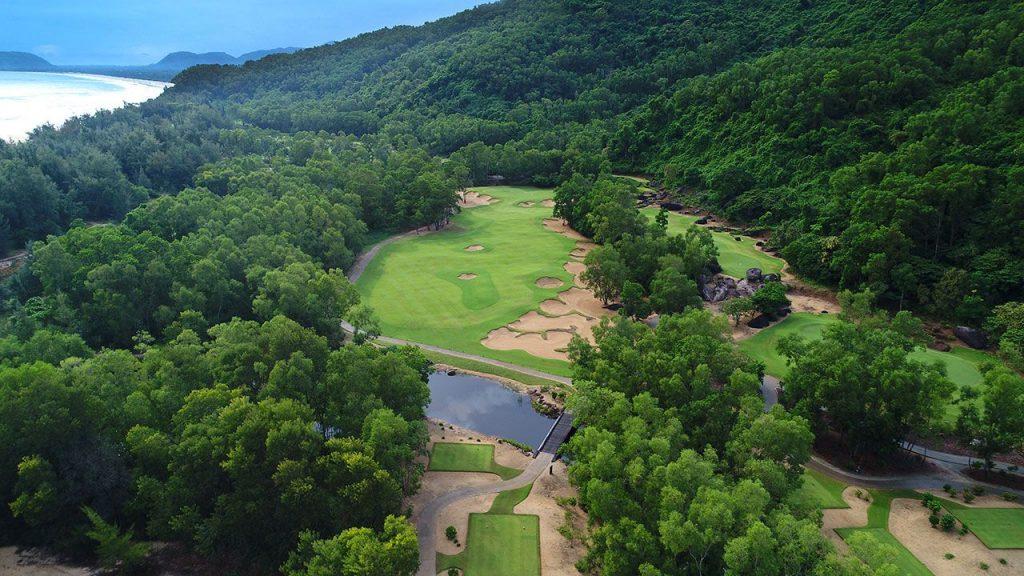 라구나 랑코 골프클럽(Laguna Lang Co Golf Club), 하늘에서 바라본 골프장 풍경 08