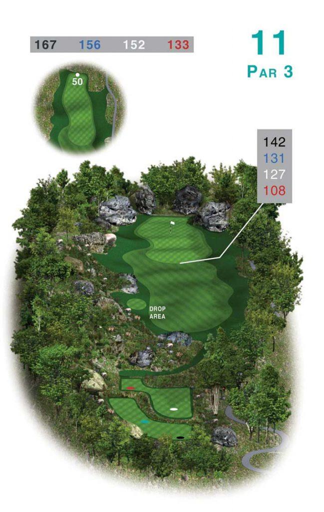 라구나 랑코 골프클럽(Laguna Lang Co Golf Club), 11홀 Par 3 그린
