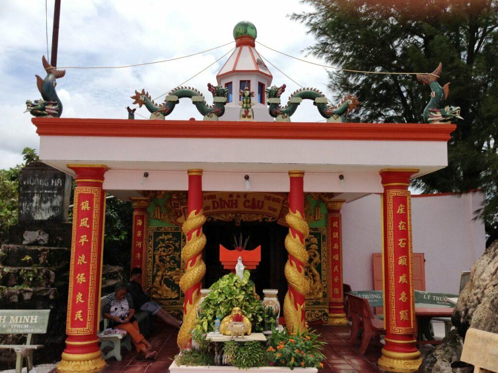 베트남 푸꾸옥 딘커우사원(Dinh Cậu Shrine), photo by trungydang