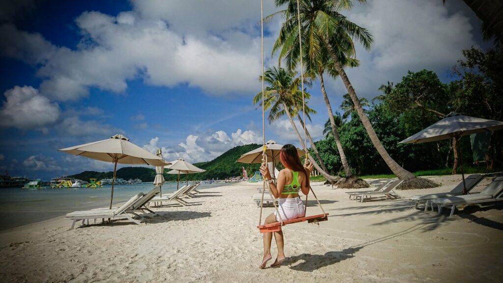 베트남 푸꾸옥 해변(Vietnam Phu Quoc beach, photo by thaiquangtri