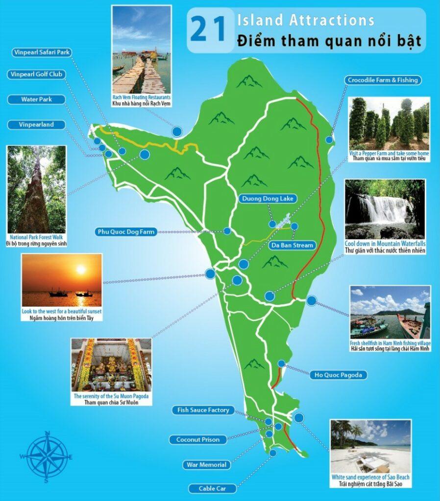 베트남 푸꾸옥(Phu Quoc) 관광지도 05_01