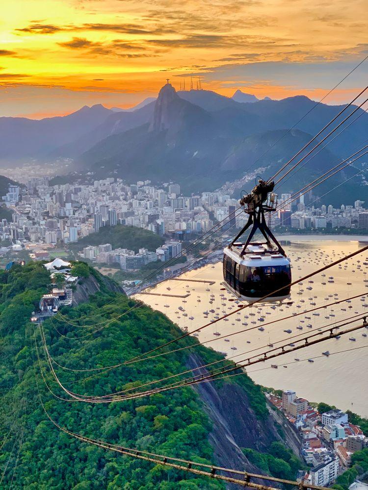 브라질 리오 데 자네이루(Rio de Janeiro) 해안 풍경, Photo by davi costa