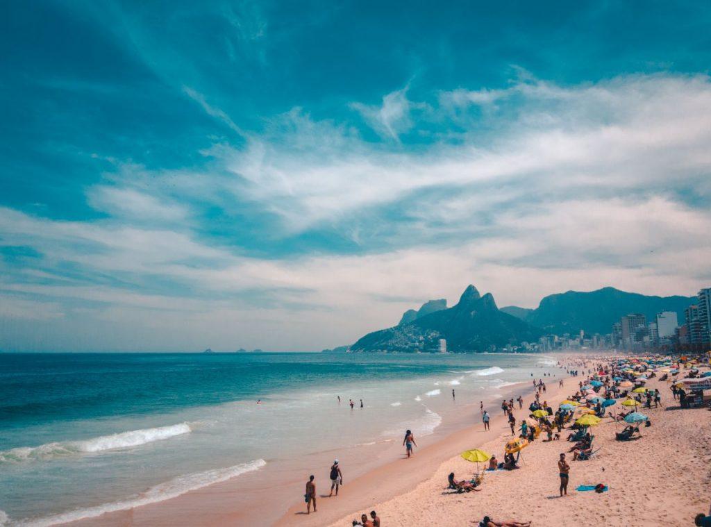 브라질 브라질 리오 데 자네이루(Rio de Janeiro) 바닷가 풍경, Photo by joao-pedro