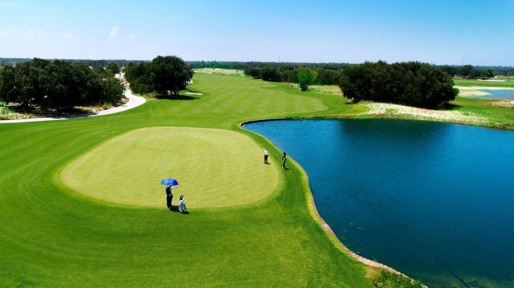 빈펄 골프 남 호이안(Vinpearl Golf Nam Hoi An) 골프장 필드 풍경