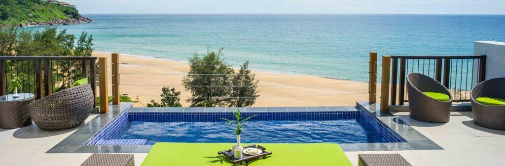 앙사나 랑코 리조트(Angsana Lang Co Resort) , 스카이풀 전경, AN-vietnam-langco-skypool seaview two bedroom loft-1920x633