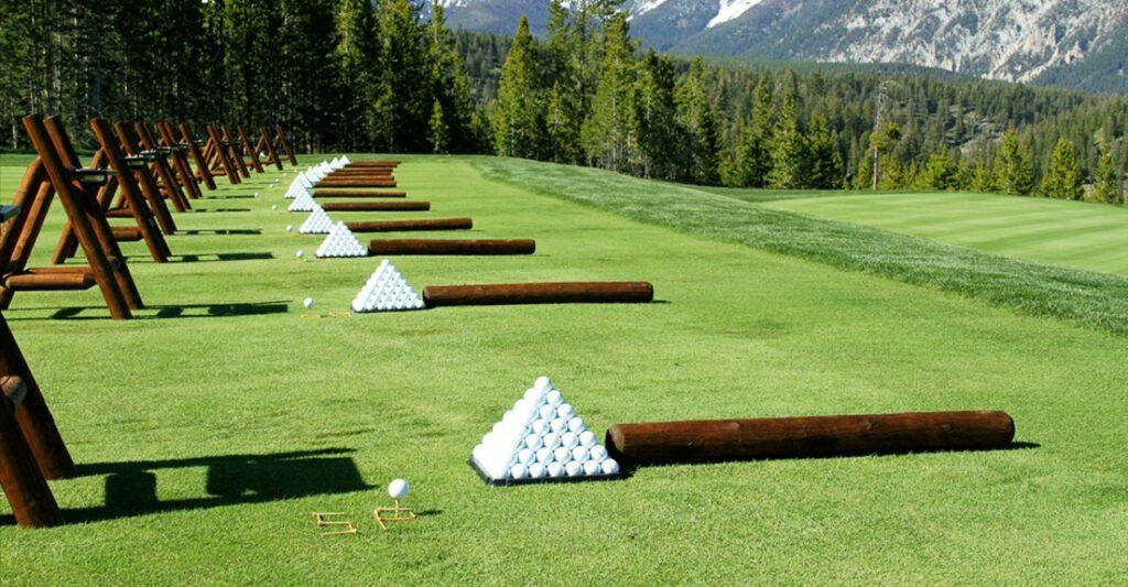 푸꾸옥 빈펄 골프장(Vinpearl Golf Phu Quoc)  드라이빙 레인지 풍경