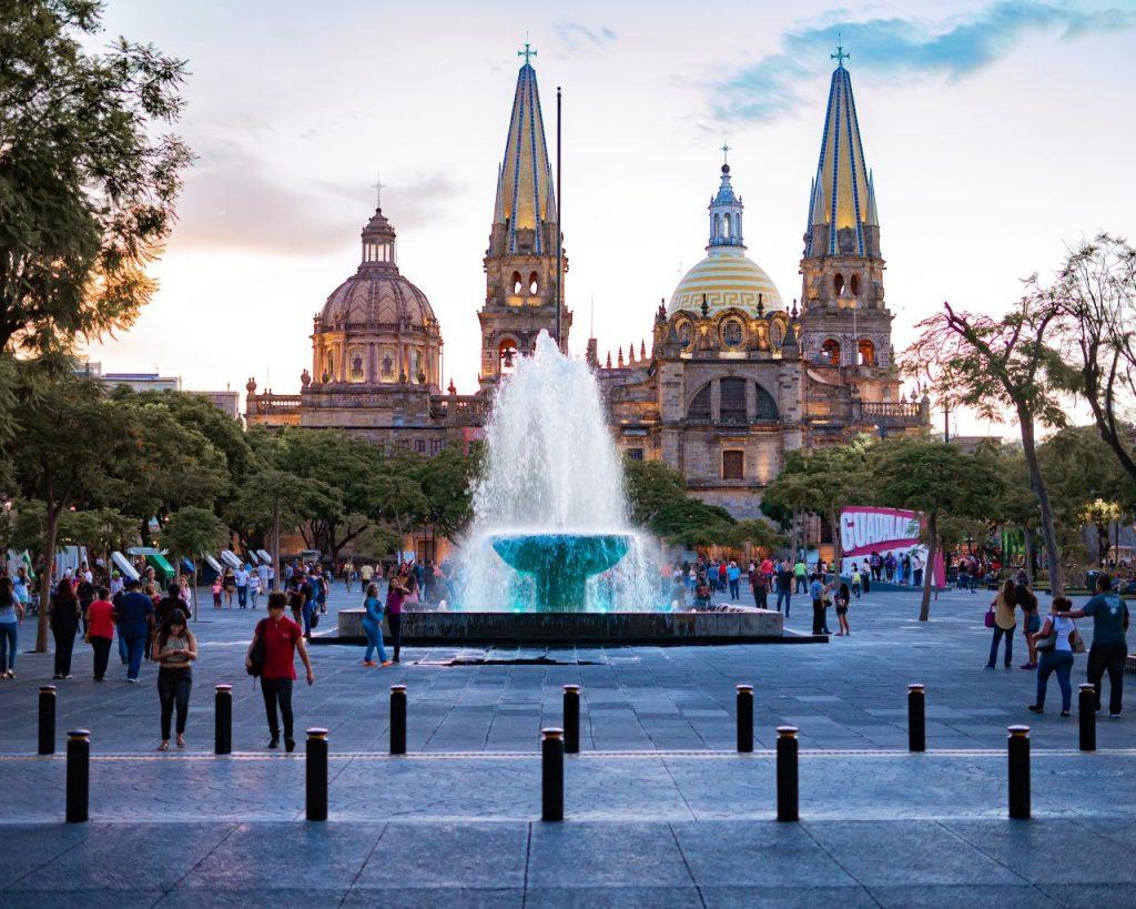 맥시코 과달라하라 자유의 광장, Plaza de la liberacion, Guadalajara, Mexico,  Photo by roman-lopez
