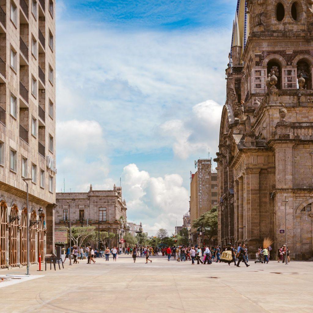 멕시코 과달라하라 역사 중심지, Centro historico, Guadalajara, Mexico, Photo by roman-lopez