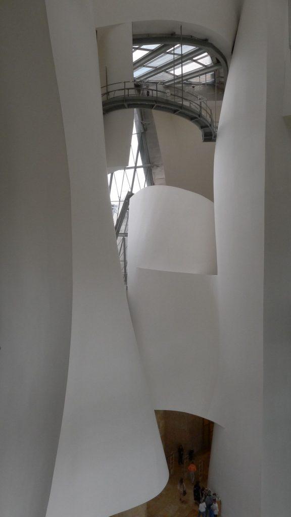 스페인 빌바오 구겐하임 미술관 내부, Photo by taeyun kim