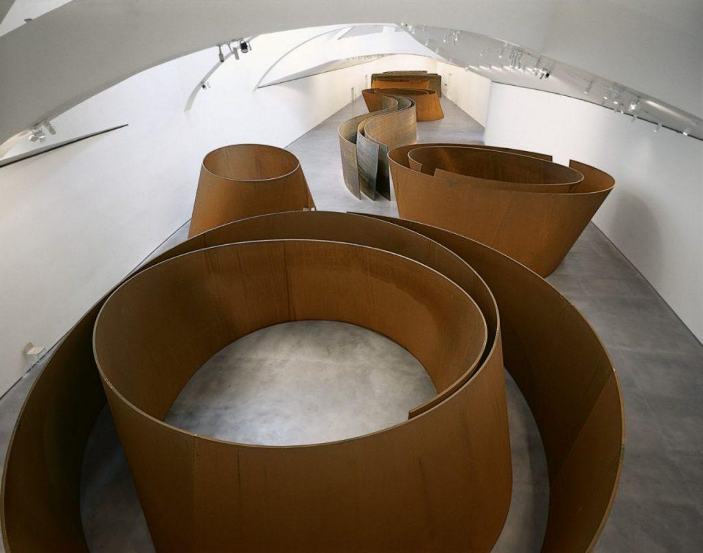 스페인 빌바오 구겐하임 미술관 소장 작품 미국 작가 리차드 세라(Richard Serra)의 '시간의 문제(The matter if Time), Richard Serra La materia del tiempo
