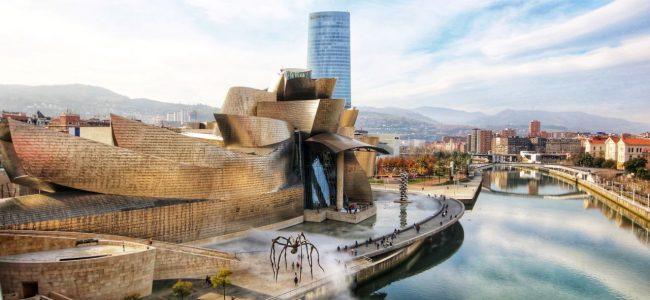 스페인 빌바오(Bilbao), 쇠락한 공업도시를 구한 빌바오 구겐하임 미술관!