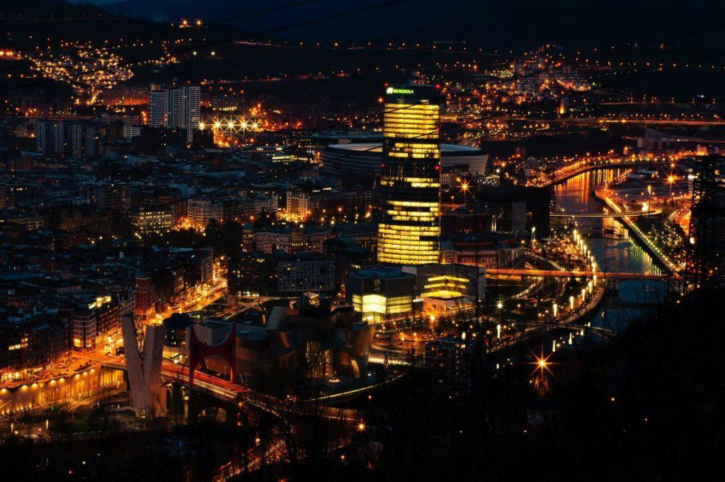 스페인 빌바오 야경, Bilbao, Spain, Photo by Jose Vidal