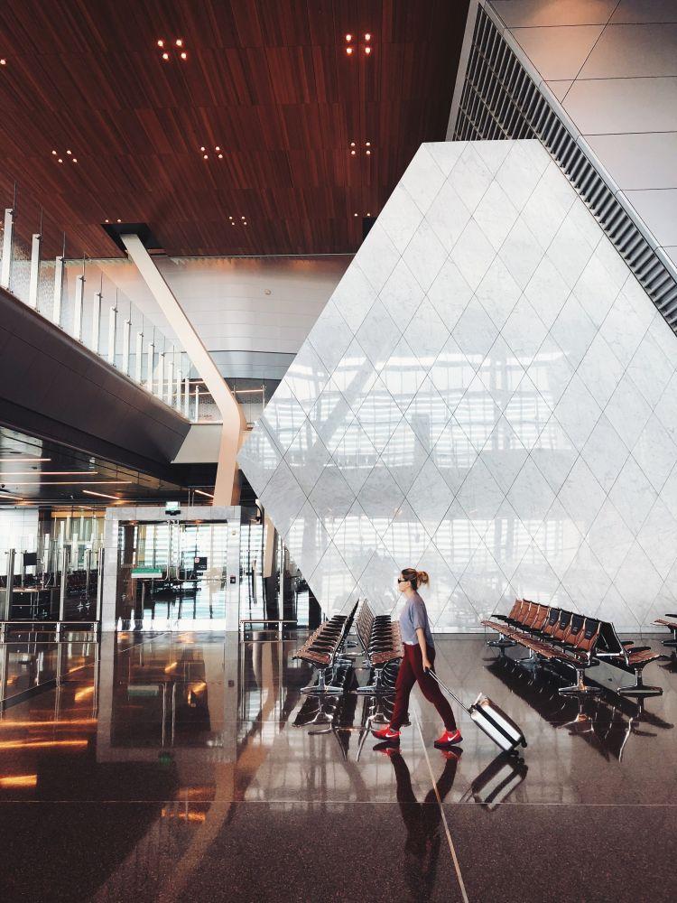 카타를 도하 하마드공항 풍경, Hamad International Airport, Doha, Qatar,  Photo by Sergey Zolkin