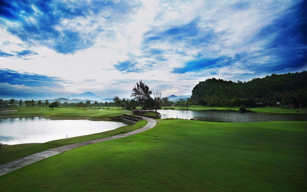 코타키나발루 가람부나이 GC(Nexus Golf Resort Karambunai) 골프장 필드 전경, Image from Nexus Golf Resort Karambunai