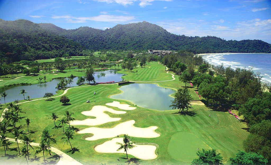 코타키나발루 가람부나이 GC(Nexus Golf Resort Karambunai) 바닷가쪽 필드 전경, Image from Nexus Golf Resort Karambunai