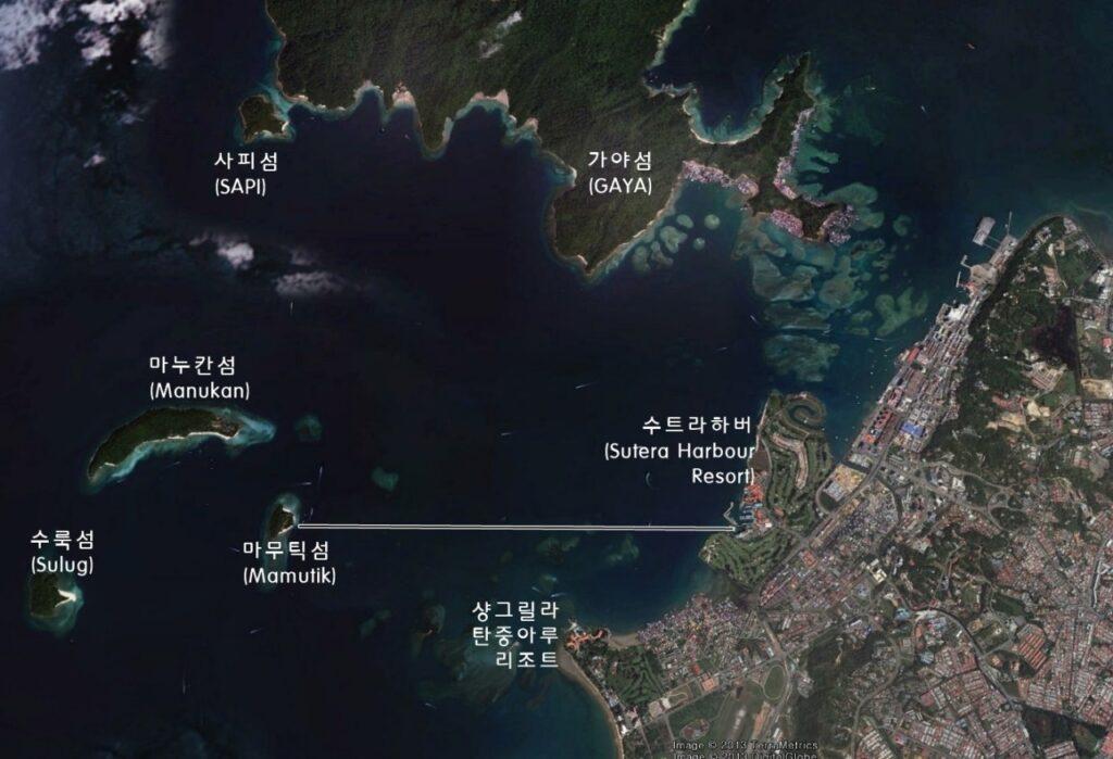 코타키나발루 구글어스맵3