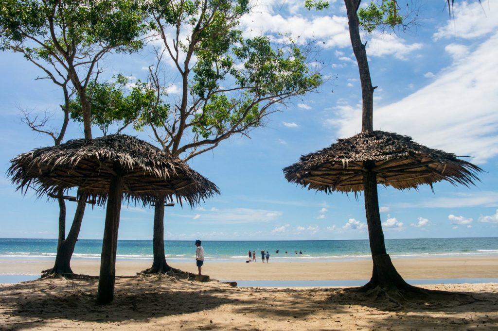 코타키나발루 맹그로브 투어 바닷가 풍경