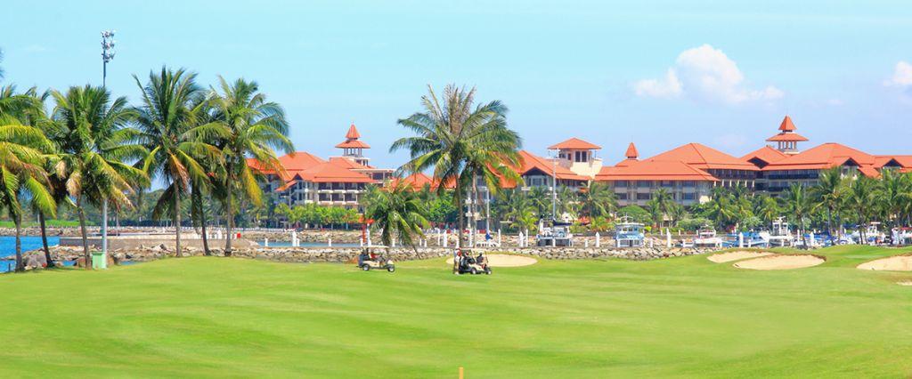 코타키나발루 수트라하버 CC 가든 코스 풍경, Image source form Sutera Harbour Golf & Country Club