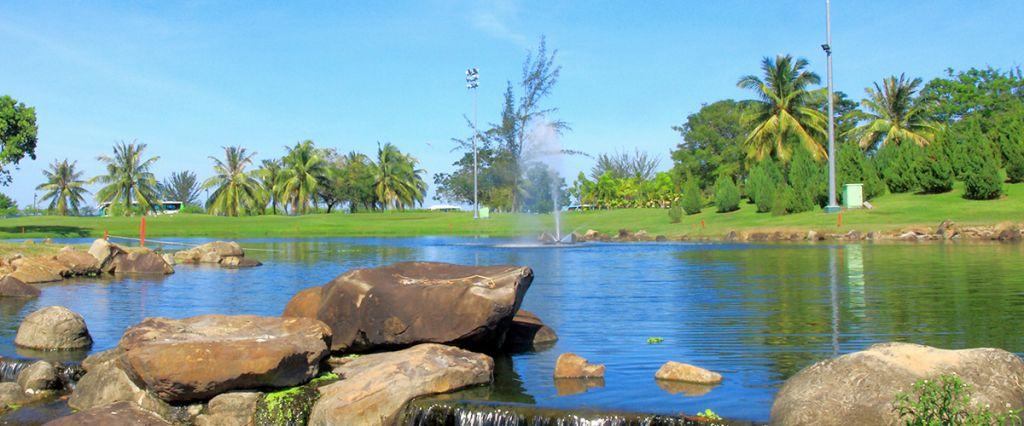코타키나발루 수트라하버 CC 레이크스 코스 풍경, Image source form Sutera Harbour Golf & Country Club