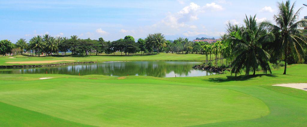 코타키나발루 수트라하버 CC 헤리티지 코스 풍경, Image source form Sutera Harbour Golf & Country Club