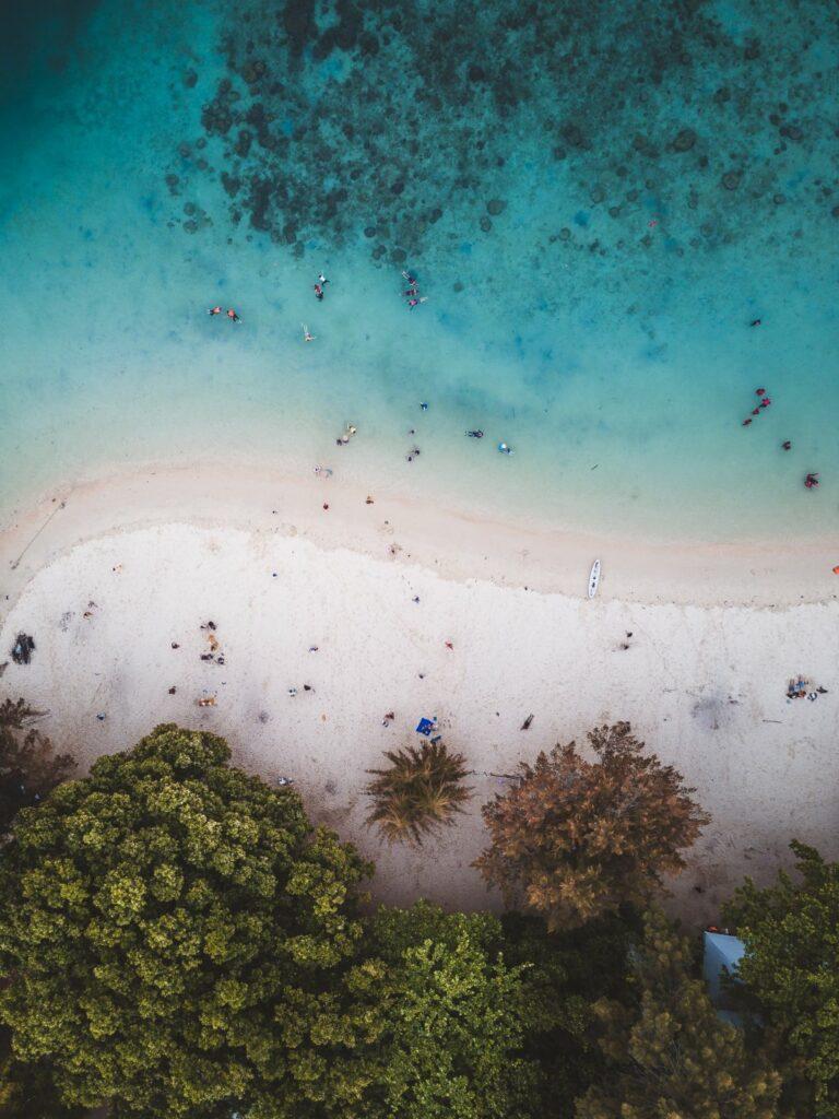 코타키나발루 해변가 풍경, Photo by fahrul-azmi