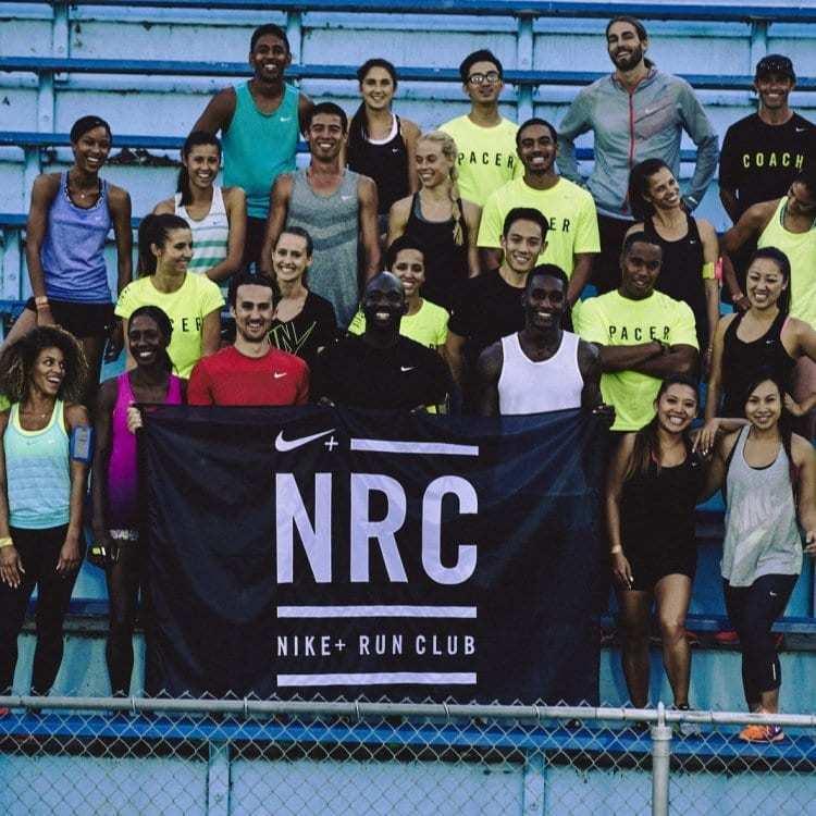 나이키 플러스 런 클럽(Nike+ Run Club) 회원들, Image from Nike