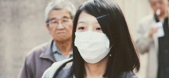 마스크를 쓴 중국인, chinise mask, Photo by Peggy Marco