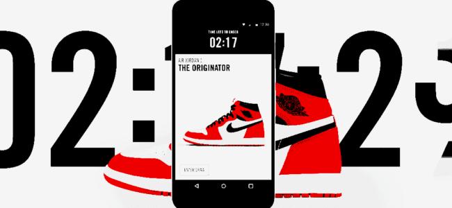 스니커헤드(sneakerhead)들 사이에서 인기 높은 나이키 SNKRS 앱 nike snkrs
