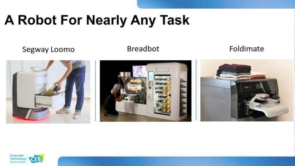 CES 2020 소비자 기술 트렌드, 다양한 일을 하는 다양한 로봇 출현, A Robot For Nearly Any Task