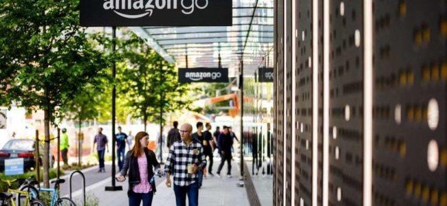 아마존고 1호 매장 앞 풍경, Amazon Go First Store, Image from Amazon