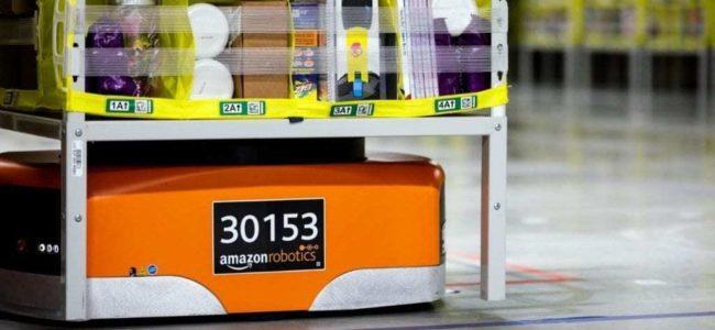 아마존 물류창고 로봇 키바, Amazon Robotics Drive Unit, Image from Amazon