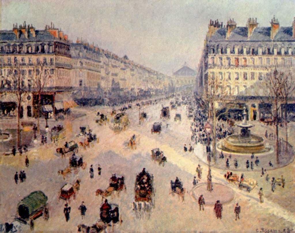 나폴레옴 3세가 세운 파리 도로들, Napoleon III instructed Haussmann to bring air and light to the centre of the city, to unify the different neighbourhoods with boulevards, and to make the city more beautiful