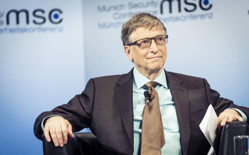 빌 게이츠. 2017년 MSC, Bill Gates MSC 2017