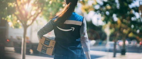 아마존 플렉스 배송 직원 뒷모습, Amazon Flex, Image from Amazon