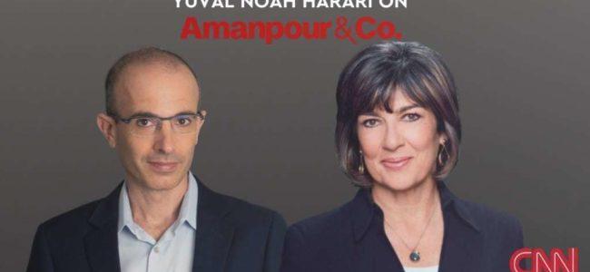 유발 하라리(Yuval Harari) CNN 앵커 Christiane Amanpour 인터뷰