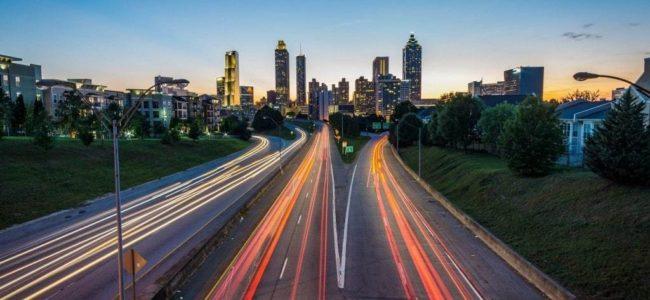 고속도로를 달리는 자동차들이 만드는 멋진 야경, Featured, Photo by joey kyber