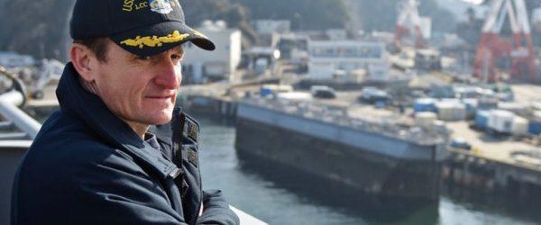미 핵추진 항공모함 시어도어 루즈벨트 호(USS Theodore Roosevelt)의 함장 브렛 크로지어(Brett Crozier)