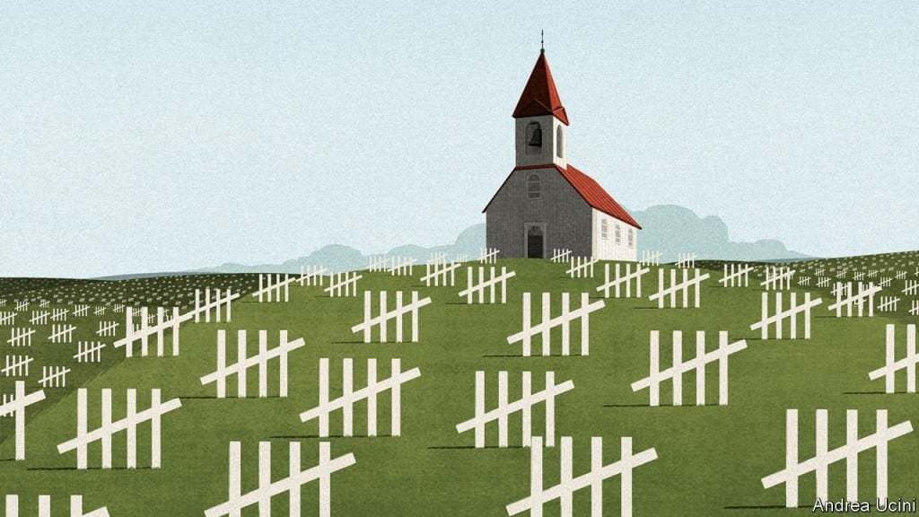 이코노미스트, 코로나19 대응은 생사와 경제 중 냉혹한 선택을 강요하고 있다. Image from The Economist