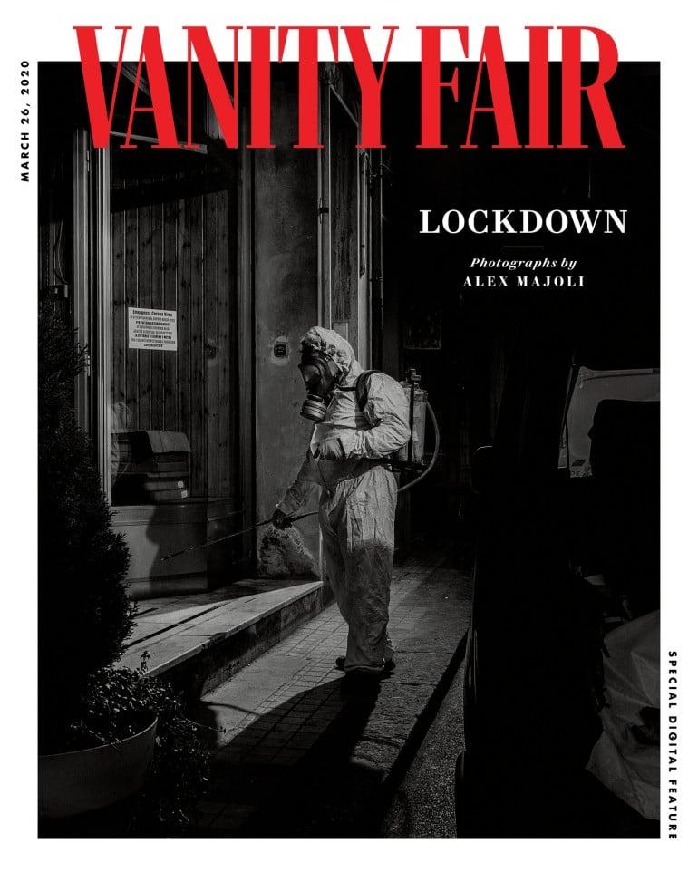 코로나 모델, 패션 매거진 베니티 페어 이탈리아 표지, Fashion magazines Vanity Fair Italia Cover Image
