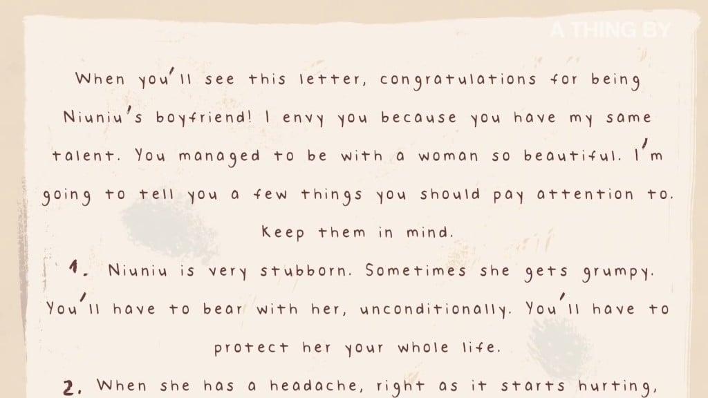 코로나19로 사망한 중국 우한의 한 남자가 남겨진 연인을 위해 남긴 편지, My Boyfriend Died of COVID-19