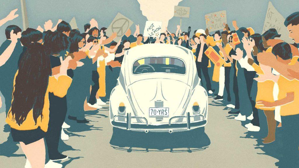 폭스바겐 뉴비틀 작별 광고, 더 라스트 마일, VW Beetle The Last Mile 04